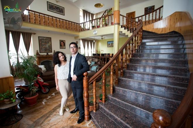 CAPTAIN RAMAN & SARIKA at  KAPOOR MANSION by SDBWP IIMG_8537 AWMJ