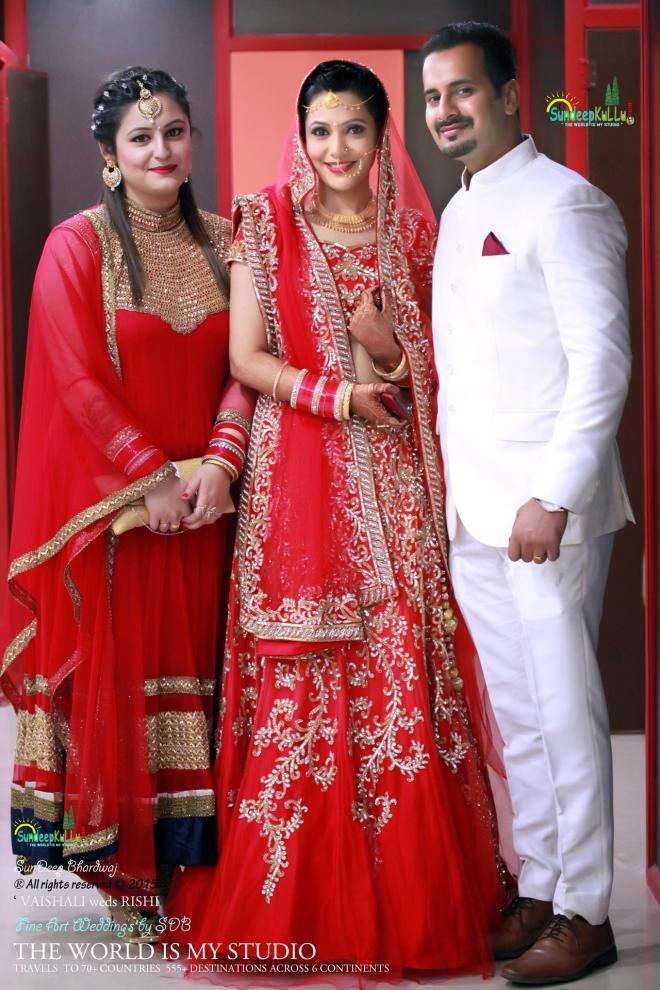 VAISHALI weds RISHI 29 Dr PK JAMWAL's Daughter 9193 AWJ